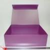 Размер: 45*32*14 см Большая коробка на магнитах. Цвет: фиолетовый.