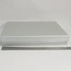 Розмір 33,5*24,5*3 см. Подарункова коробка зі  з`ємною кришкою. Колір срібло