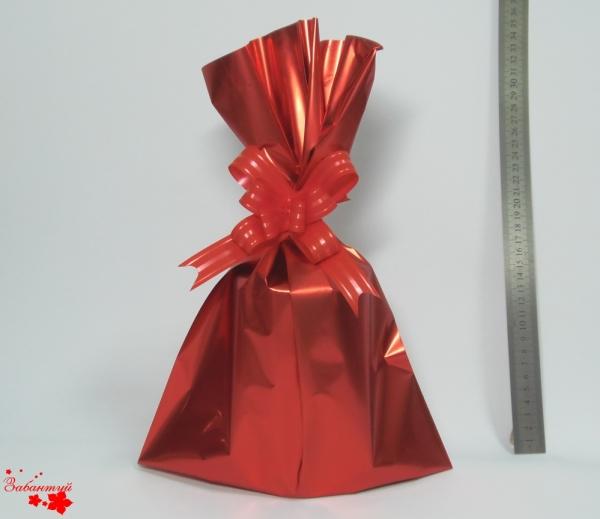 Размер 25Х40см. Пакетики для подарков однотонные. Цвет красный.  Упаковка 10 шт.