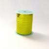 Лента с золотыми полосками для упаковки подарков и цветов 1 см. 63 м. Цвет: салатовый