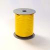 Лента с золотыми полосками для упаковки подарков и цветов 1 см. 63 м. Цвет: желтый