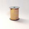 Лента с золотыми полосками для упаковки подарков и цветов 1 см. 63 м. Цвет: сиреневый